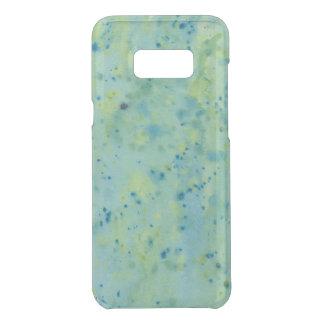 Blue & Green Watercolour Splat Uncommon Samsung Galaxy S8 Plus Case