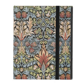 Blue Green William Morris Tapestry iPad Case
