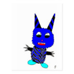 Blue Gremlin Postcard