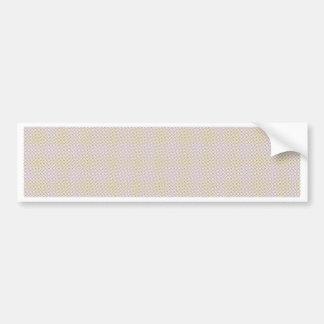 Blue Grey Brown Pastel pattern Bumper Sticker