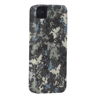 Blue Grey iPhone 4 digital camo case