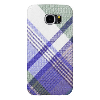 Blue Grey Tartan Plaid Case