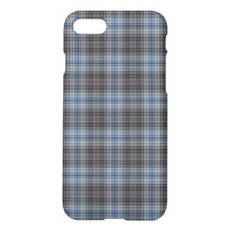 Blue Grey Tartan Plaid iPhone 8/7 Case