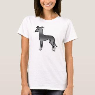 Blue Greyhound / Whippet T-Shirt