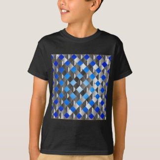 Blue grid background T-Shirt