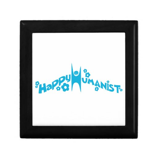 Blue Groovy Happy Humanist Gift Boxes
