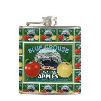 Blue Grouse Canadian Apples Hip Flask
