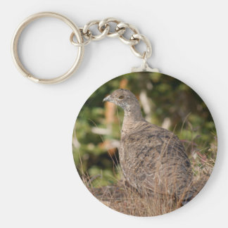 Blue Grouse Key Chains