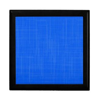 Blue Grunge Effect Background Gift Box