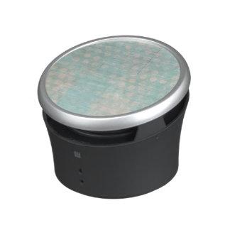 blue grungy dots bluetooth speaker