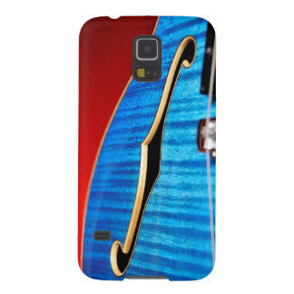 Blue Guitar Barely There Galaxy S5 Covers