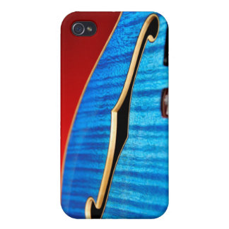 Blue Guitar Case For The iPhone 4