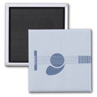 Blue Guitar Fridge Magnets