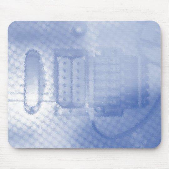 Blue Guitar Mouse Pad