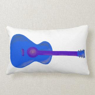 blue guitar reversible long cushion