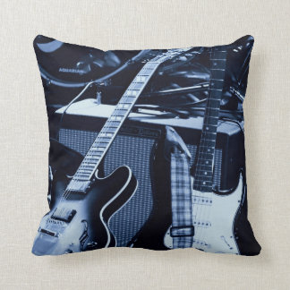 Blue Guitars Cushion