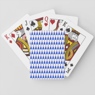 blue guitars playing cards