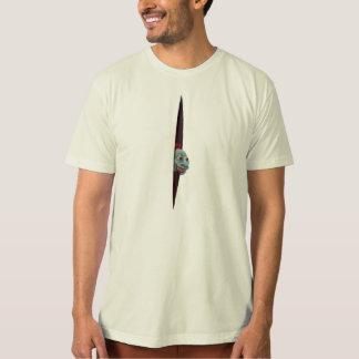 Blue Guy Peeking T-Shirt