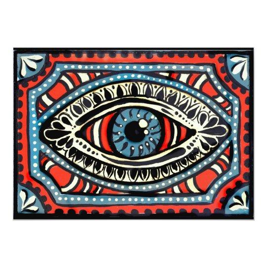 Blue Gypsies Eye Card