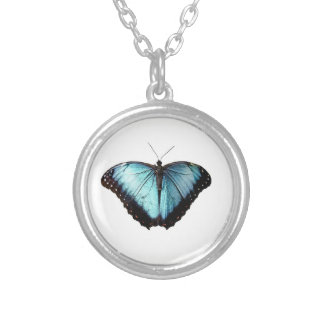 Blue Gypsy Butterfly Necklace
