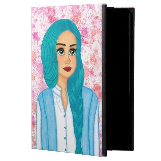 Blue hair powis iPad air 2 case