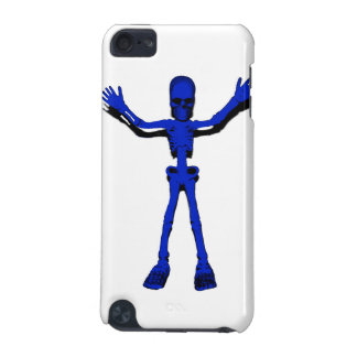 Blue Halloween Skeleton iPod Touch 5G Covers