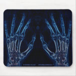 Blue Hands X-ray mousepad (version 1)
