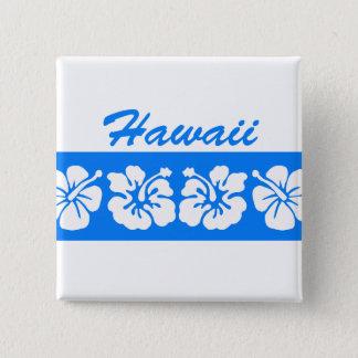 Blue Hawaii 15 Cm Square Badge