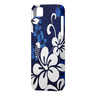 Blue Hawaii Flowers iPhone 5 Cover