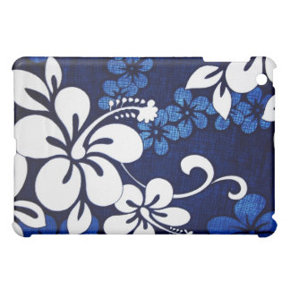 Blue Hawaiian Hibiscus iPad Case