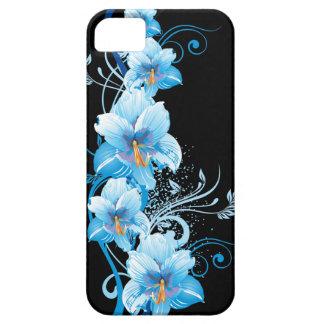 Blue Hawaiian Hibiscus iPhone 5 Cover