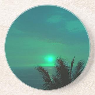 Blue Hawaiian Skies Coaster