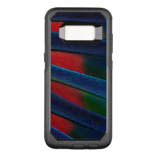 Blue-Headed Parrot Feather Detail OtterBox Commuter Samsung Galaxy S8 Case