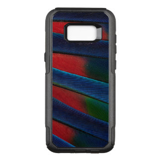 Blue-Headed Parrot Feather Detail OtterBox Commuter Samsung Galaxy S8+ Case