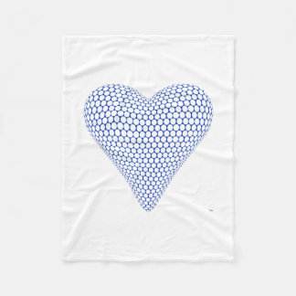 Blue Heart Blanket
