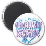 Blue Heart Guidance Counsellor Magnet