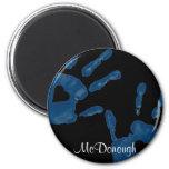 Blue Heart Handprint