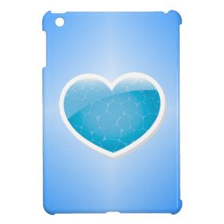 Blue Heart - Happy Birthday Sister iPad Mini Cover
