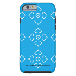 Blue Heart Phone Case