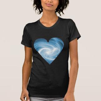 Blue Heart T Shirt