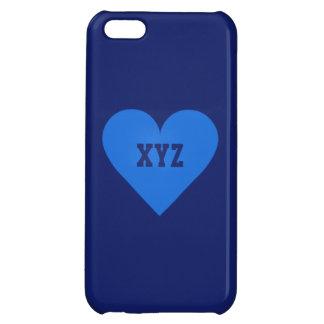 Blue Heart Valentine custom cases