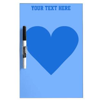Blue Heart Valentine custom message board
