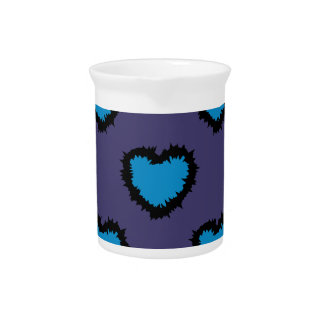 BLUE HEARTS DRINK PITCHERS