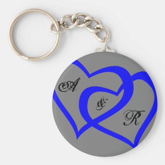 Blue Hearts keychain