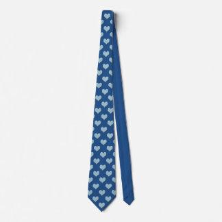 Blue Hearts Tie