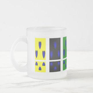 Blue Hearts Trio Mug