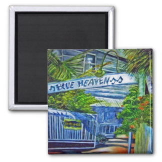 'Blue Heaven, Key West' magnet