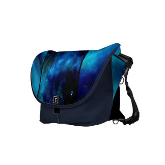 Blue Heavens Windows Rickshaw Messenger Bag