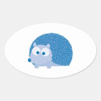 Blue Hedgehog Stickers