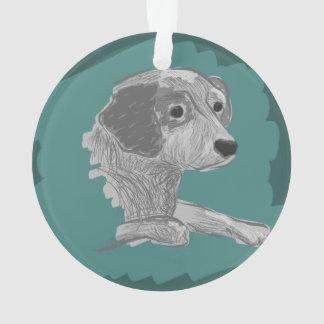 Blue Heeler owner gift idea, cattle dog lover gift Ornament